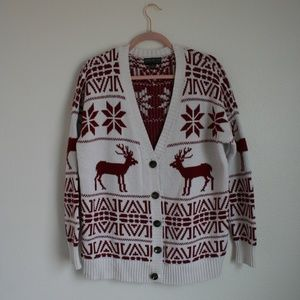 Forever 21 Christmas reindeer ugly sweater 2x